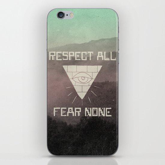 FEAR NONE iPhone & iPod Skin