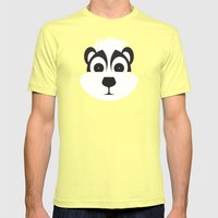 Drunk as a Skunk Mens Fitted Tee Lemon SMALL