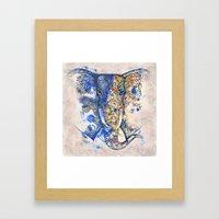 Decorative Elephant - Ta… Framed Art Print