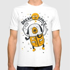 Dream in space Mens Fitted Tee White SMALL