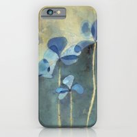 Blue Flowers iPhone 6 Slim Case