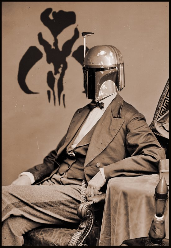 Portrait of Sir Fett Art Print