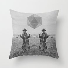 Never Trust A Three Arme… Throw Pillow