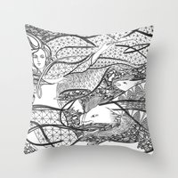 A Great Magician / Origi… Throw Pillow
