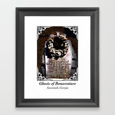 Ghosts of Bonaventure - Harry Poster Framed Art Print