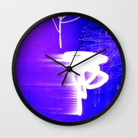 WAITING FOR THE STARS Wall Clock