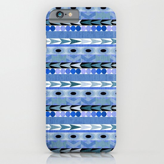 Play Date Blues iPhone & iPod Case
