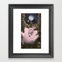 Metronome! Framed Art Print