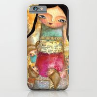 iPhone & iPod Case featuring Music - teacher and children by Atelier Susana Tavares