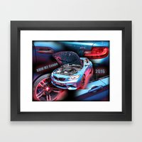 BMW M2 Coupe Framed Art Print