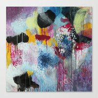 Jellyfishes At The Disco Canvas Print