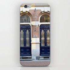 Two doors iPhone & iPod Skin