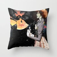 PLANETARY INFLUENCES Throw Pillow