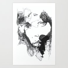 Thoughts of Amy Art Print