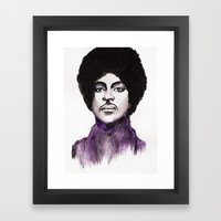 The Prince Framed Art Print