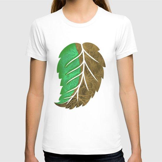 Drying Leaf T-shirt
