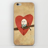 the lover iPhone & iPod Skin