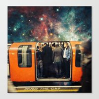 Mind The Galaxy | London… Canvas Print