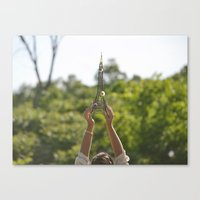 The World On My Shoulder… Canvas Print