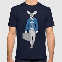 Antilope Mens Fitted Tee Navy SMALL