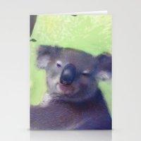 Koala Stationery Cards
