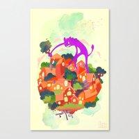 CIVICS 2 Canvas Print