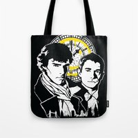 John and Sherlock  Tote Bag