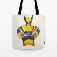 Polygon Heroes - Wolveri… Tote Bag