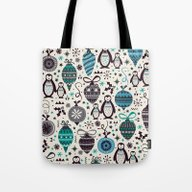 Tote Bag featuring Silver Trinklets  by Poppy & Red