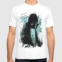 In Pieces Mens Fitted Tee White SMALL