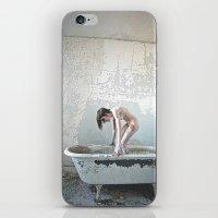 Aqua/Morning iPhone & iPod Skin