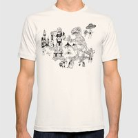 War Of The Worlds (man-c… Mens Fitted Tee Natural SMALL