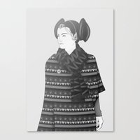 The Most Stylish Couple in Galactic 2 Canvas Print