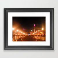 Nice Night Framed Art Print