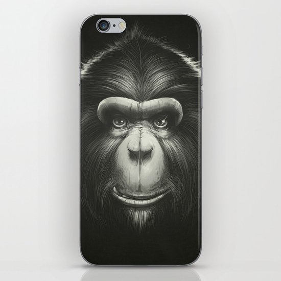 Monkee with Tooth iPhone & iPod Skin