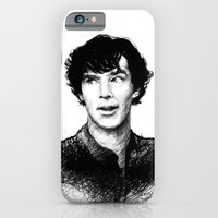 iPhone & iPod Case featuring The Eyebrow by nlmda