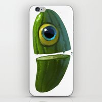 Mr. Cucumber iPhone & iPod Skin
