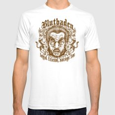 Blutbaden Sepia Mens Fitted Tee SMALL White
