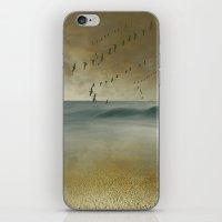 The morning flight iPhone & iPod Skin