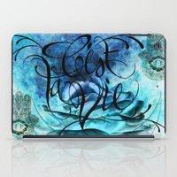 Turquoise Hamsa iPad Case
