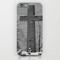 iPhone & iPod Case featuring The Cross - 2 by Joanna  Pickelsimer