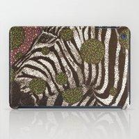 Zebra Face iPad Case