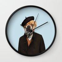 Monsieur Chapeau Wall Clock