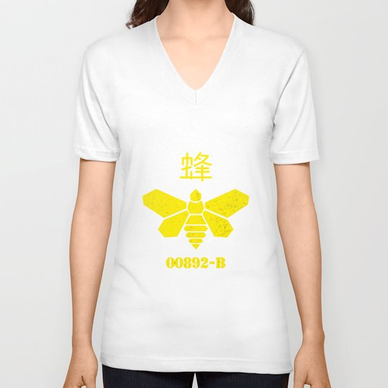 Heisenberg - Breaking Bad 892B Golden Moth V-neck T-shirt