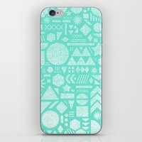 Modern Elements With Tur… iPhone & iPod Skin