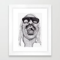 Stevie  Framed Art Print