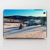 Smooth Hills In Winter W… iPad Case