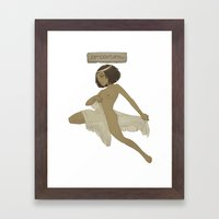 Historical Pin-Up - 23rd Century BCE Framed Art Print