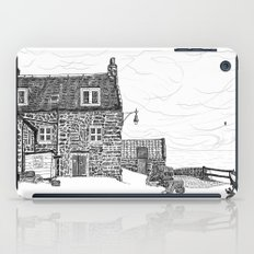 Crail: Old Harbour house.... Fife, in Scotland iPad Case