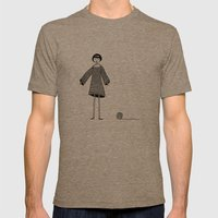 Knitting, Gone Awry. Mens Fitted Tee Tri-Coffee SMALL